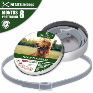 Dog Collar for Flea and Mosquito Repellent Pet Dog and Dog for Mosquito Repellent Pet Collar for Natural Insect Repellent Essent