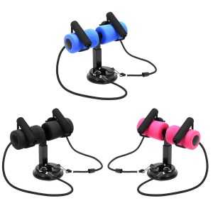 Sit-ups Assistant Device Abdominal Muscle Training Adjustable Resistance Band Self-Suction Sit Ups Bar