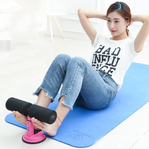 Adjustable Sit Up Assistant Bars Abdominal Core Fitness Workout Stand Portable Situp Suction Home Gym Exercise Tools