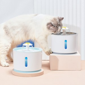 Cat Pet Water Fountain Dog Drinking Bowl Pet USB Automatic Water Dispenser Super Quiet Drinker Auto Feeder