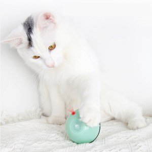 Smart Interactive Pet Toys LED Luminous Ball USB Charging Smart Cat Toy Automatic 360 Degree Self Rolling Balls