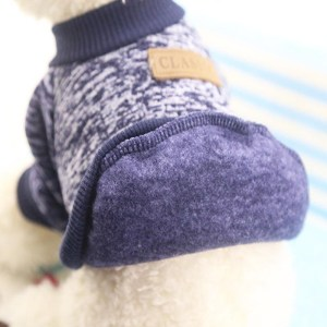Dog Clothes Soft Dog Clothes Warm Puppy Outfit Pet Jacket Coat Soft Sweater Clothing For Small Dogs Puppy