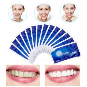14Pcs/7Pair 3D Gel Teeth Whitening Strips White Tooth Dental Kit Oral Hygiene Care Strip for False Teeth Veneers Dentist Seks