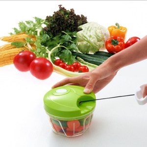 ultifunctional Speedy Chef Chopper Shredder Manual pull rope Rotation Little Cyclones Slicer