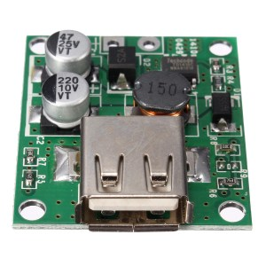 5V 2A Solar Panel Power Bank USB Charge Voltage Controller Regulator Module 6V 20V Input