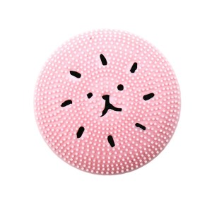 Silicone Cleansing Brush Cartoon Pink Jellyfish Octopus Wash Brush Clean Face