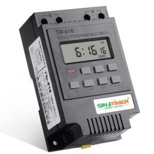 220V 110V 12V 30AMP TM616 Control Load 7 Days Programmable Digital TIME SWITCH Relay Timer Control