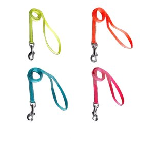Pet Dog Leash Long Engough Lead for Smaill Medium Large Dog Reflective Safe Lead 5 Colors 3 Size 15cm 20cm 25cm