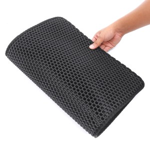 Double-Layer Cat Litter Box Mat Trapper EVA Pad Pet Foam Rubber Rug Pet Mat