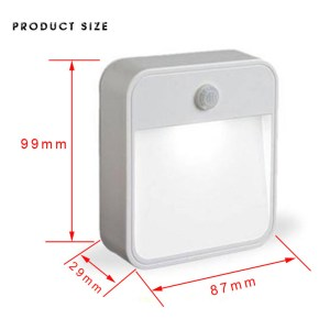 LED Mini Body Sensor Light Creative Induction Light Control Night Lights Small Cabinet Lights Bedside Lights