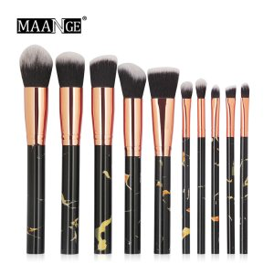 10Pcs Kits Makeup Brushes Set Professional Powder Foundation Concealer Eye shadow Lip Soft Make Up brush Comsestic Tools