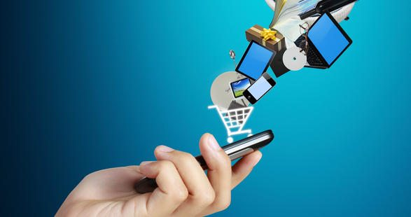 Online shopping mobile
