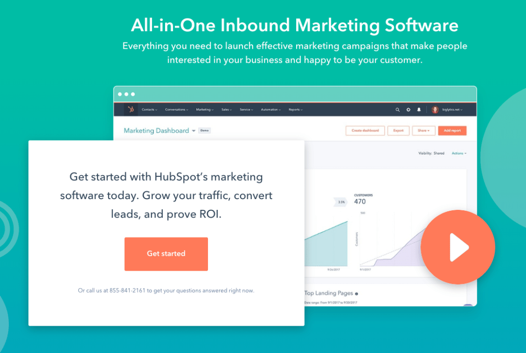 email marketing automation tool hubspot