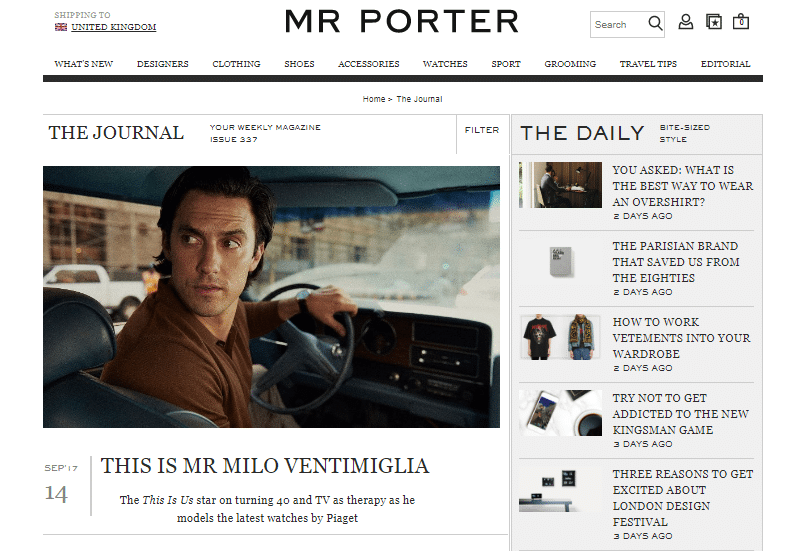 How to Boost Customer Engagement for Your E-commerce Site - MR PORTER