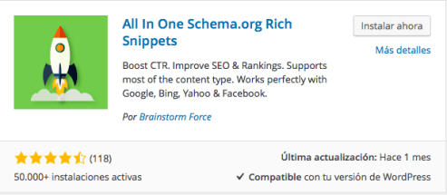 plugin all one rich snippets