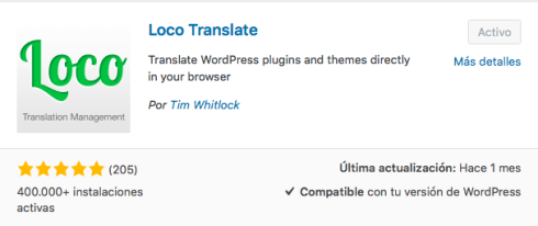 plugin loco translate