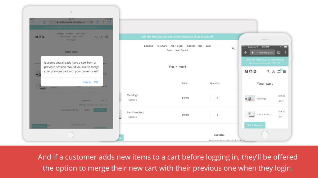 The 8 best Shopify Apps to recover abandoned cart - Free Persistent Cart App