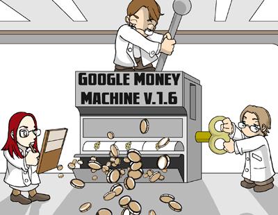 The Google money machine.