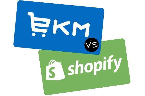 EKM vs Shopify Ecommerce Comparison