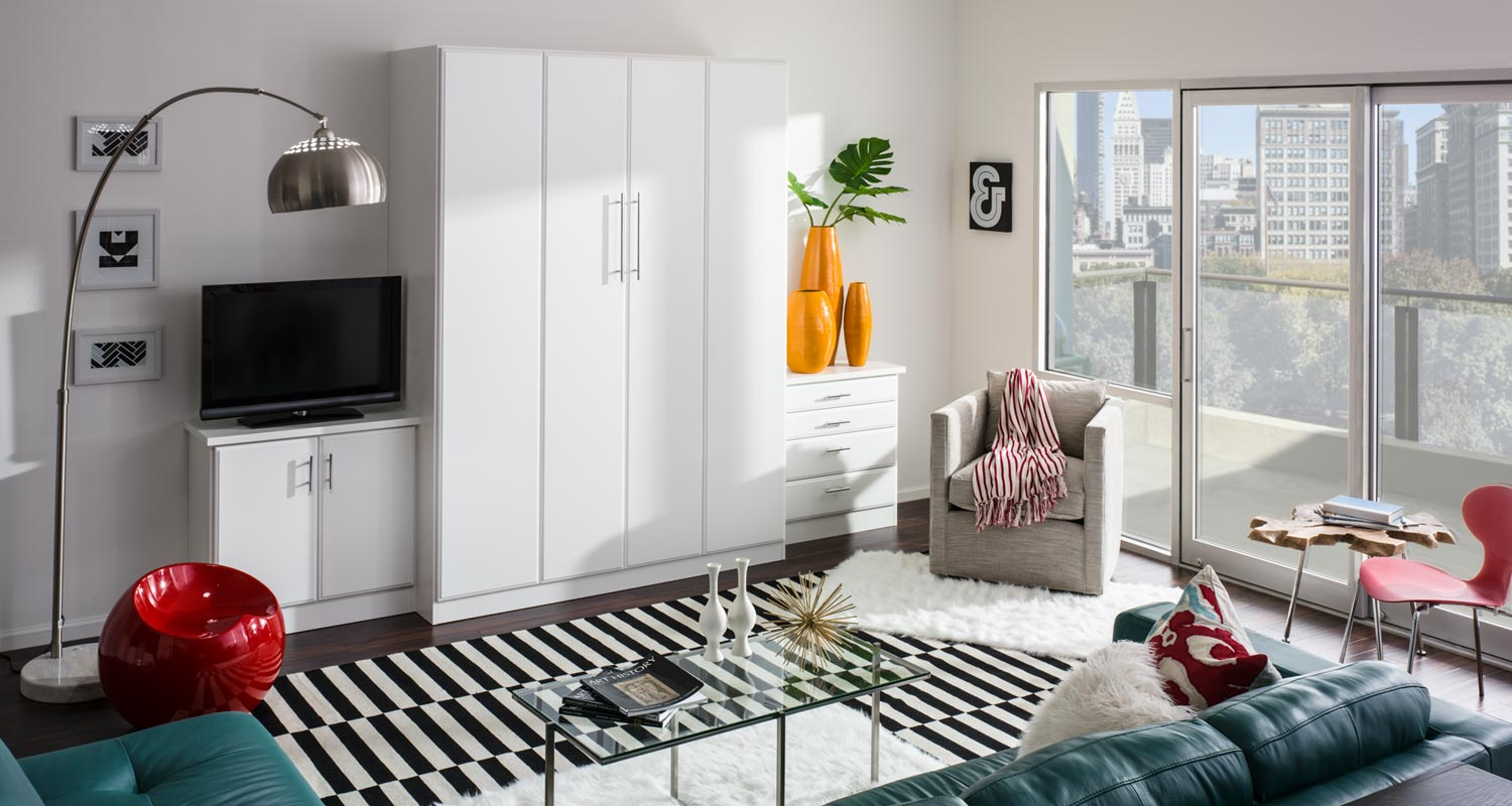 murphy bed in small living room brick wallpaper ideas for beds northern virginia maryland dc