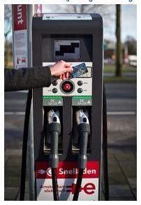 Charging Station in Denmark.