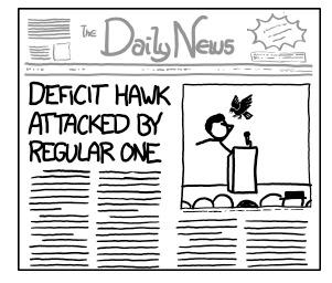 Budget news deficit xkcd