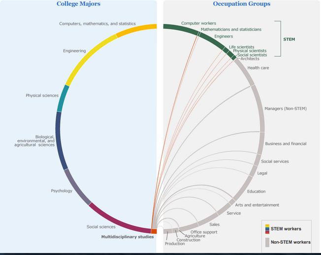 Human capital jobs and multidisciplinary studies