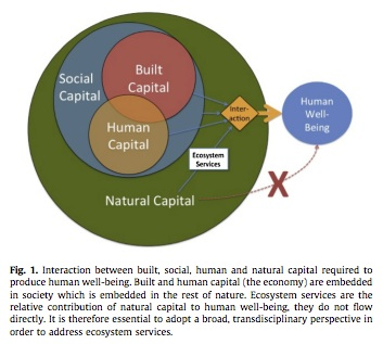 Malthusian Economics and natural capital