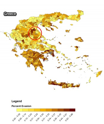 Fiscal Policy and Greek tax evasion