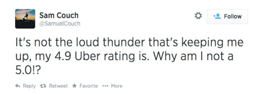 Negative externalities from Uber labor decisions