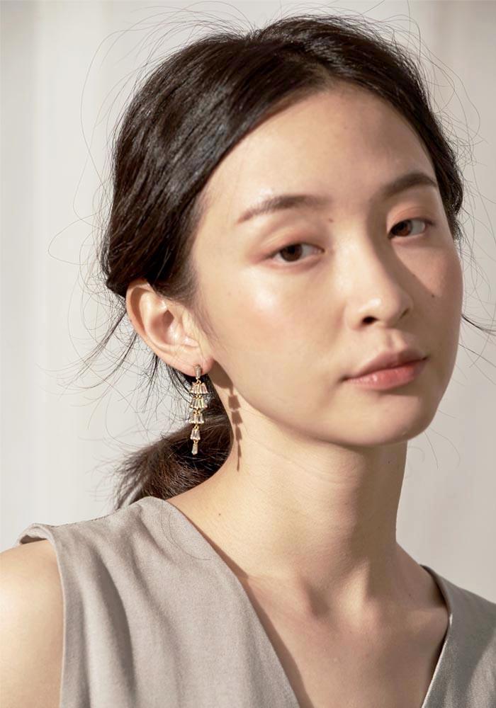 矽膠夾耳環。無耳洞女孩也可以美一波!