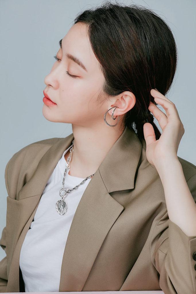 多層次 #耳骨耳環,個性,簡約,好搭配 無耳洞也可配戴!