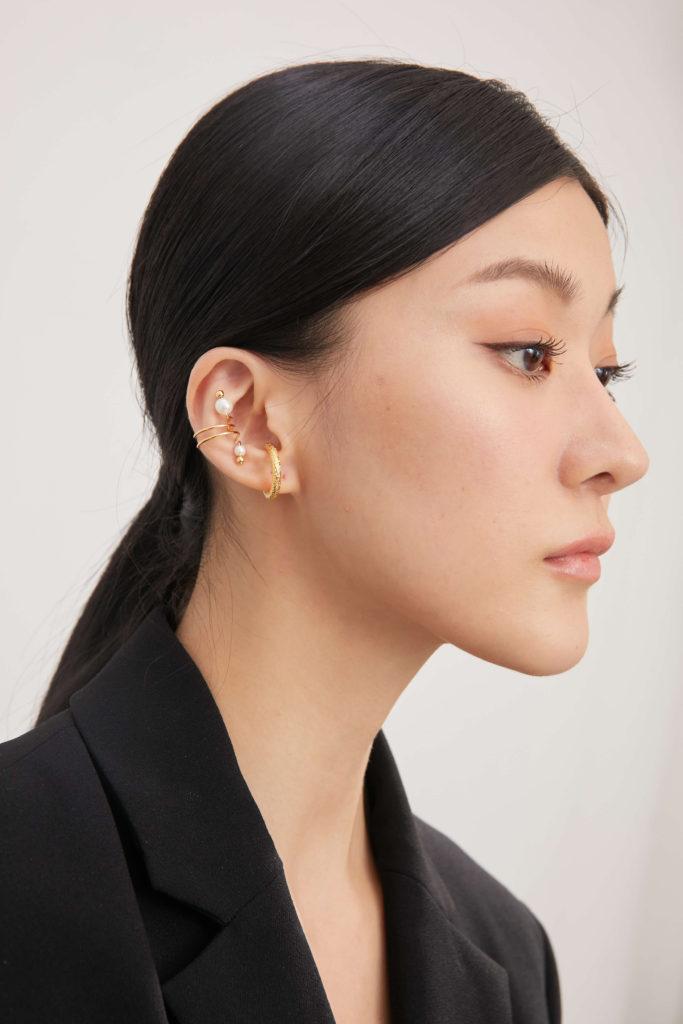 珍珠耳骨耳環,跟我一起愛上珍珠的魅力! - ECO ONNI