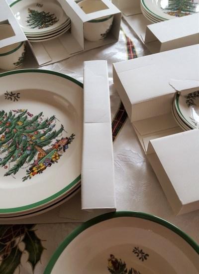 Spode Tree Box contents