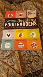 Book cover of Groundbreaking Food Gardens