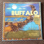 Book Cover with buffalo herd