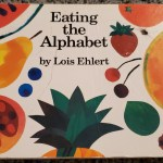 Alphabet book highlighting fruits and Vegetables