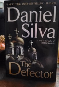Book Cover of Daniel Silva's The Defector