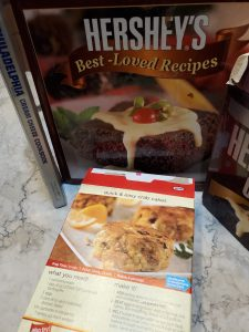 Three Manufacturer's Recipe Books