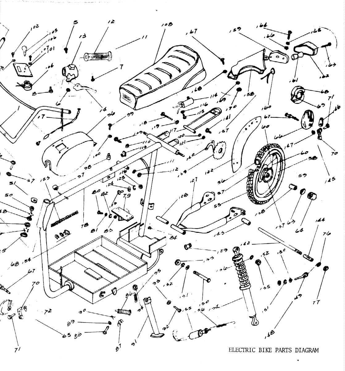 2 Cycle Ezgo Marathon Parts Diagrams