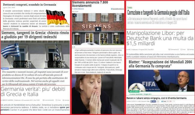 corruzione tedesca