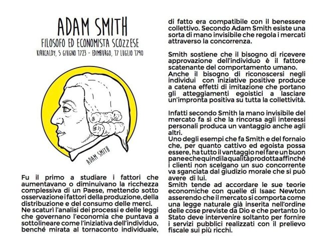 I volti dell'economia - Adam Smith