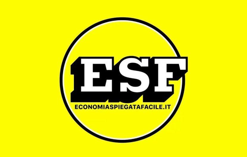 Nuovo logo di ESF: economia spiegata facile