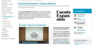 Cuenta expansion de Banco Sabadell