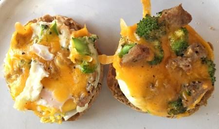 Ramekin Eggs Sandwich