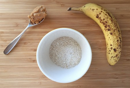 healthy banana pancakes ingredients