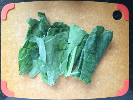 Blanched Swiss Chard Raw