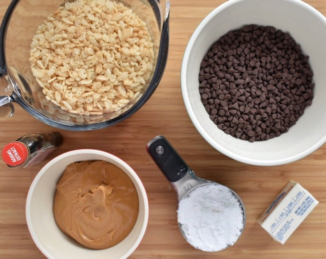 No Bake Peanut Butter Balls Ingredients