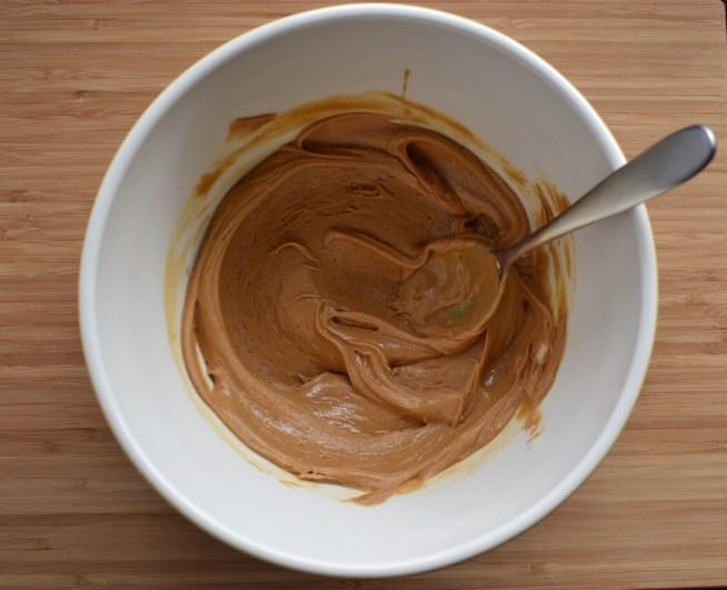 Peanut Butter Mixture for No Bake Peanut Butter Balls