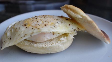 How to Cook Over Medium Eggs sandwich